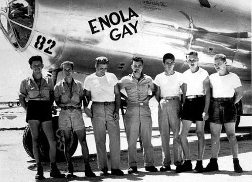 エノラ・ゲイのクルー