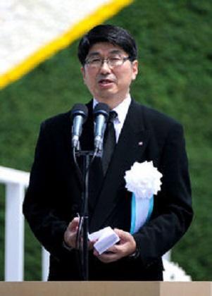 田上富久長崎市長1