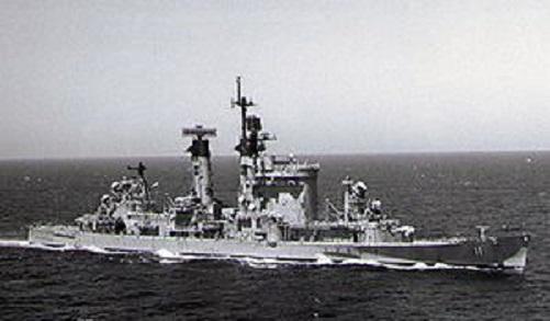 ボルチモア級重巡洋艦シカゴ1