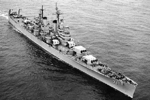 ボルチモア級軽巡洋艦クインシー1