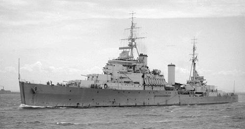 ニュージーランド海軍軽巡洋艦ガンビア