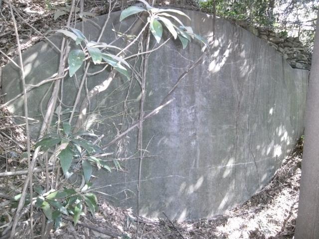 佐田岬第1砲台砲座 (3)