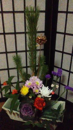 20140101正月花
