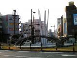 JR岩国駅 ミニ錦帯橋