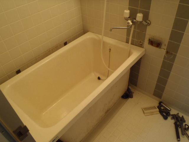 お風呂施工前2