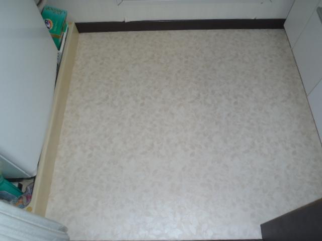 床の補修工事