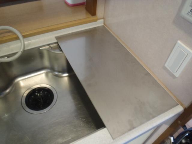 食器洗浄機 施工中1