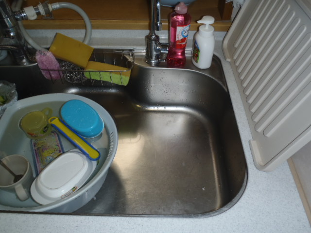 食器洗浄機施工前1