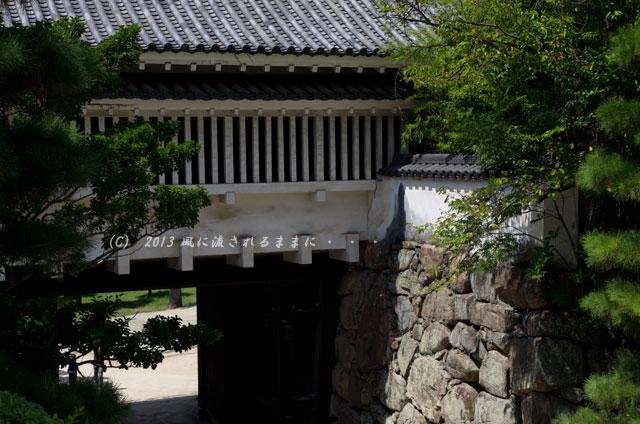 岡山城 不明門(あかずのもん)