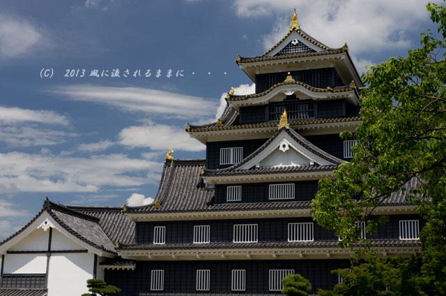 岡山城 天守閣2