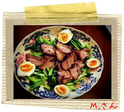 森沢さんベーコンと燻製卵