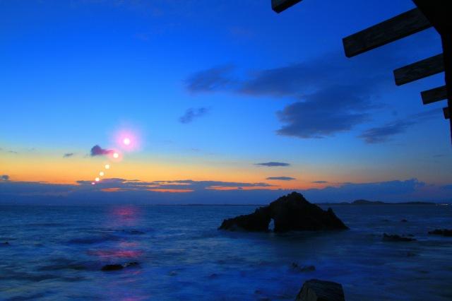 志賀の島 朝日 (1)