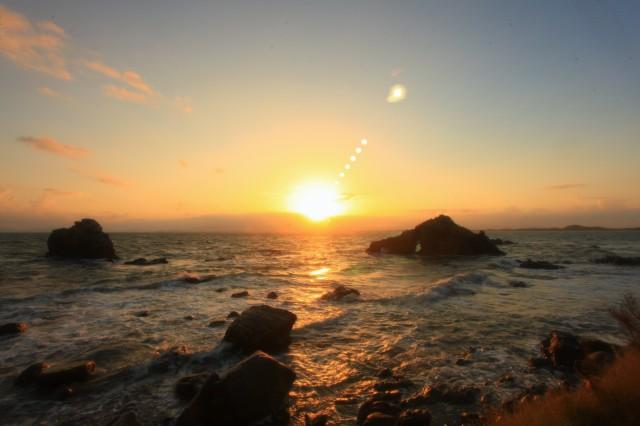 志賀の島 朝日 (2)