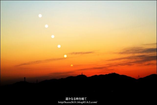吉野ヶ里夕陽