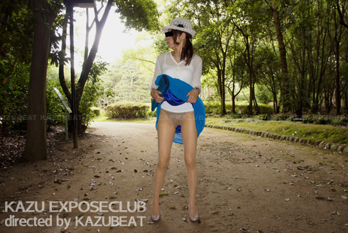 森林公園パンチラ散歩
