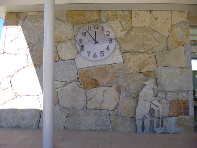 時計はいつも同じ時刻を指しています