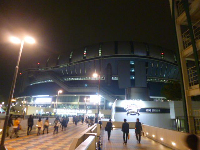 ドーム前千代崎駅すぐです