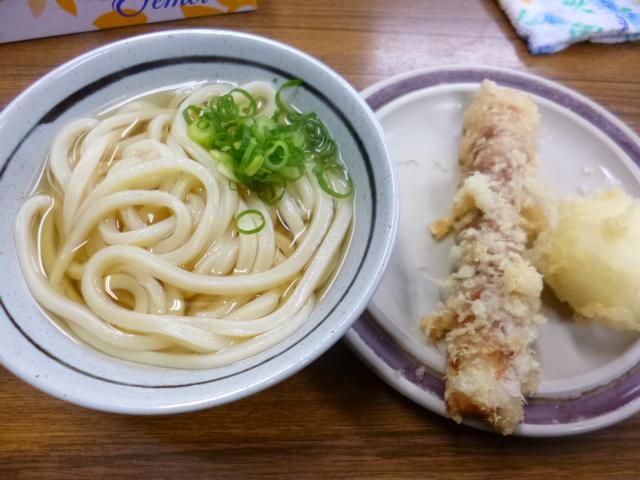 麺と天ぷらが合流出来たときには天ぷらはとっくに冷めていました