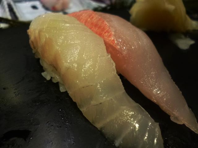 こちらが旬を外れた高級魚の皆さんです
