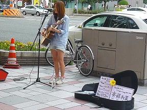 女性単騎でストリートで勝負は斉藤利菜さん