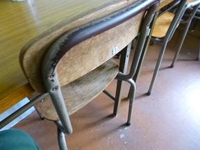 昔予備校で使ってた椅子