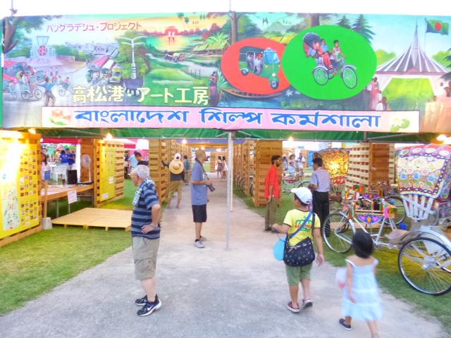 日本で一番バングラデシュ人人口密度が高いのは,まちがいなく高松です