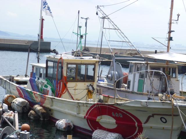 日輪は新生丸 こんな漁船は全部で6隻あります