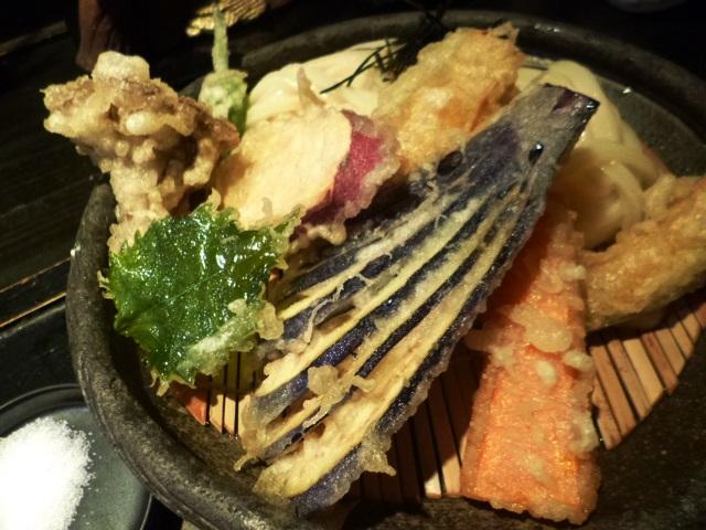 天ぷらも美味しい