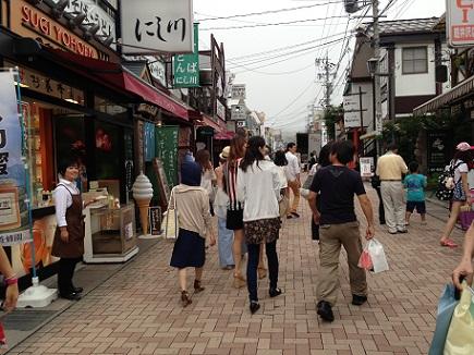 7252013信州高原旅行旧軽井沢商店街S1