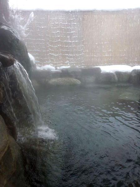 冷えたカラダに源泉かけ流し天然温泉~最高~