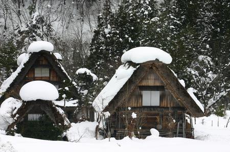 なつかしく 美しい 日本の風景がここにあります~世界遺産 白川郷合掌集落~ ①