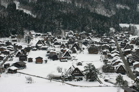 なつかしく 美しい 日本の風景がここにあります~世界遺産 白川郷合掌集落~ ②