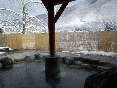 世界遺産白川郷荻町合掌集落の最も近くにある隠れた名湯~平瀬温泉地内唯一の日帰り温泉施設「大白川温泉 しらみずの湯」 ⑦