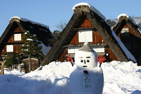 年末年始を冬真っ盛りの世界遺産 白川郷で♪~ゆく年くる年~ ①