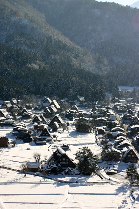 年末年始を冬真っ盛りの世界遺産 白川郷で♪~ゆく年くる年~ ④