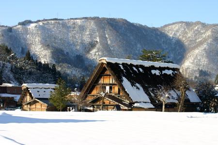 年末年始を冬真っ盛りの世界遺産 白川郷で♪~ゆく年くる年~ ⑧