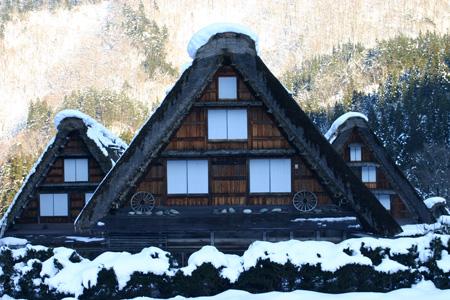 年末年始を冬真っ盛りの世界遺産 白川郷で♪~ゆく年くる年~ ⑫