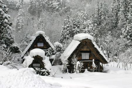 年末は世界遺産 白川郷&温泉でのんびりと!2013年の疲れは今年のうちにすっきりと! 大白川温泉 しらみずの湯に浸かって心身ともにリラックス♪③