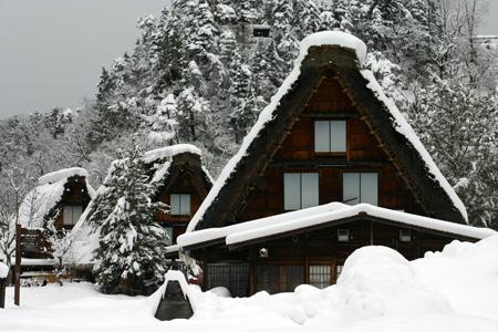 何ていう美しい冬景色なんだろう ~世界遺産 白川郷合掌集落~⑥