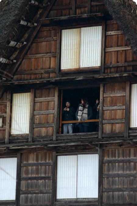 世界遺産白川郷の伝統行事「春駒(はるこま)」⑥