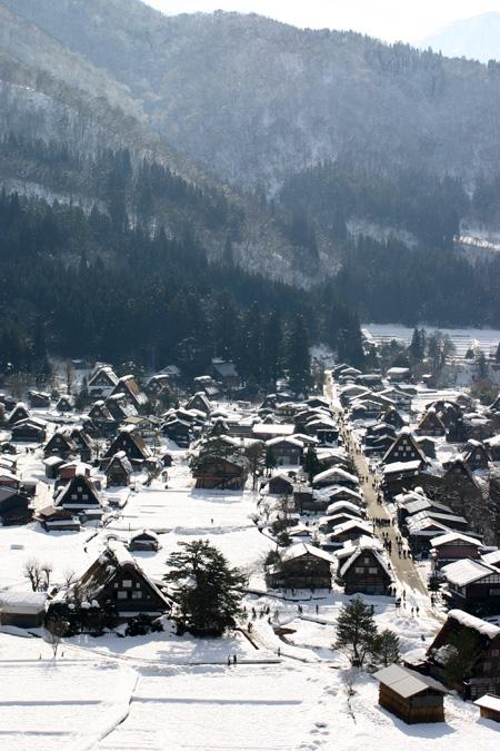 冬休みの旅行~スキー&温泉&合掌集落で冬の世界遺産 白川郷 思いのまま~⑧
