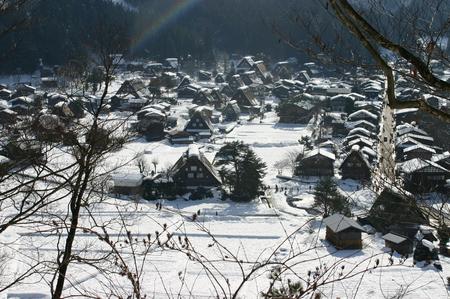 年末年始 休日をズラして、ちょっと遅めのお正月をたっぷりとお楽しみください♪ 世界遺産 白川郷 ⑤