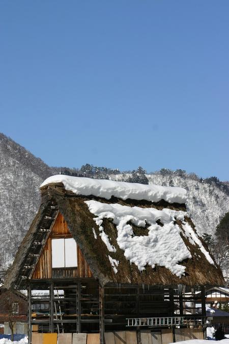 【冬はほっこり温泉】冬の絶景~世界遺産 白川郷を散策♪~のんびり冬休み ⑤