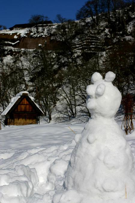 【冬はほっこり温泉】冬の絶景~世界遺産 白川郷を散策♪~のんびり冬休み ⑦