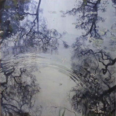 北川安希子「drowing of water」