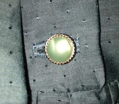 綿シルクドットドビーボタン
