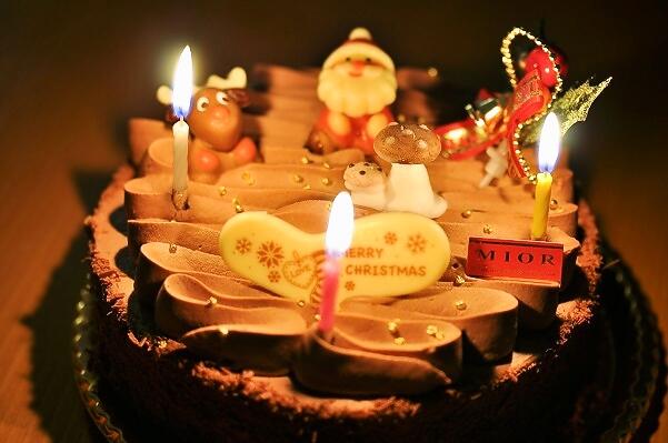 2013・12月24日 クリスマスケーキ
