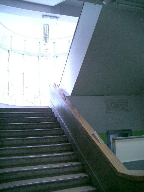 交通博物館 階段