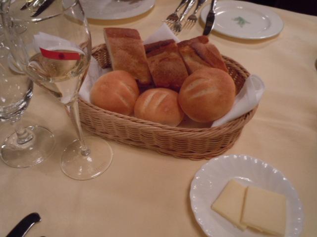 万平ホテル ディナー1
