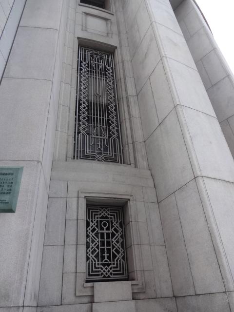 大阪証券ビル 格子